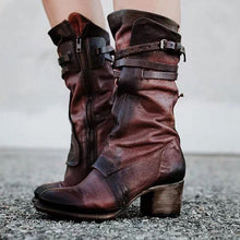 Fashion Women Belt Buckle Long Boots