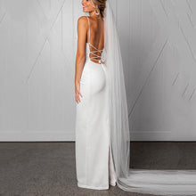 Sexy Strap Backless Wedding/Evening  Dress