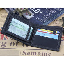 Canvas 4 Card Slots Bifold Wallet Casual Card Pack For Men Women