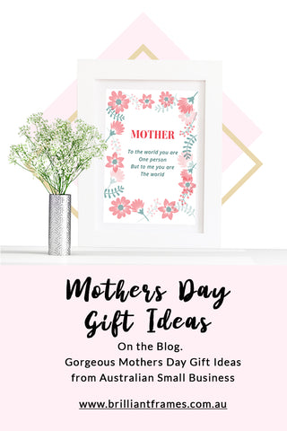 Mothers day gift ideas brilliant frames