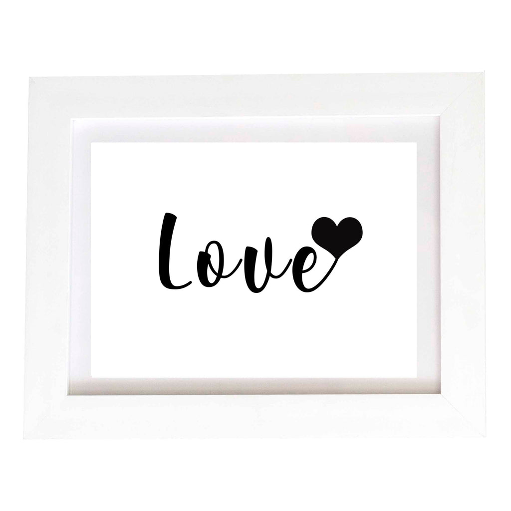 Digital Download Wall Print - Love