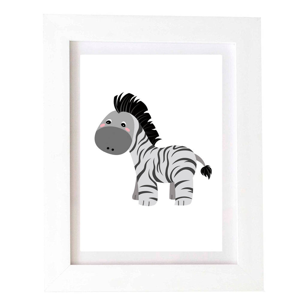 Digital Download Wall Print - Zebra