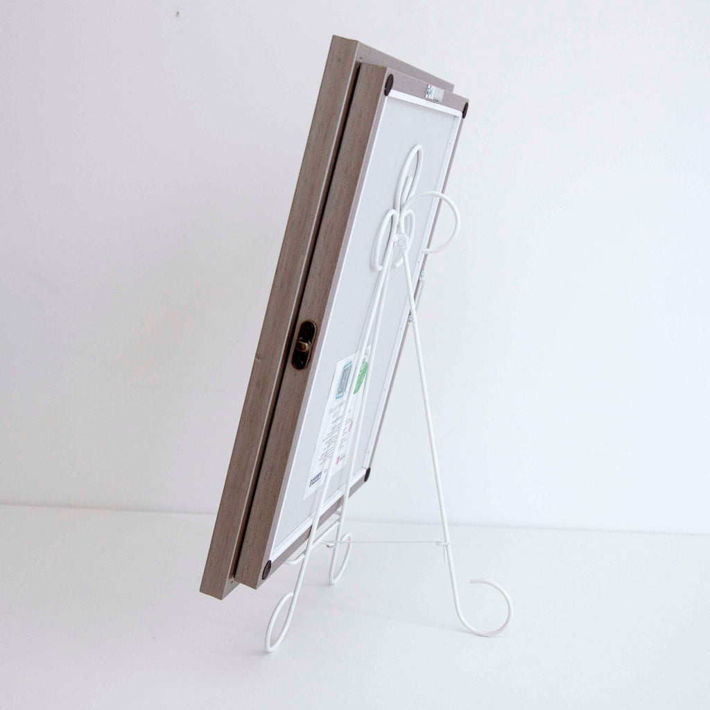 Metal Display Easel White
