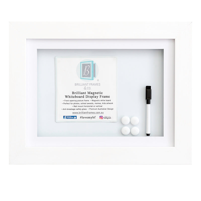 A3 White Front Opening Picture Frame Brilliant Frames Co