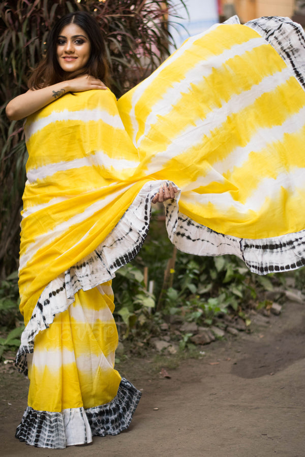 Ruffle Sarees Online