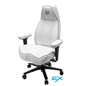 Stealth EXtreme Gaming Chair - Solid White w Contrast