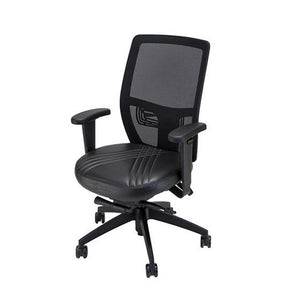 Mach I Gaming Chair - Solid Black with Contrast