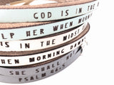 Psalm 46:5... double wrap bracelet