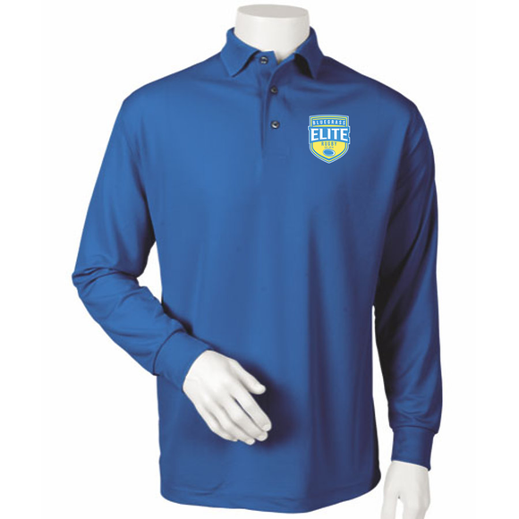 Bluegrass Elite Rugby Embroidered Long Sleeve Polo #110-BER - Olympus Rugby
