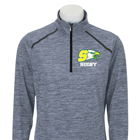 BSHS Embroidered Women's Sport 3/4 Zip Pull-Over #161BSHS - Olympus Rugby