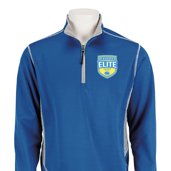 Bluegrass Elite Rugby Embroidered Zip-Up Pull-Over #302-BER - Olympus® Rugby