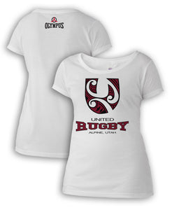 United Rugby Sublimated Women's Fan Shirt#243UR - Olympus Rugby