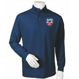 303 Rugby Embroidered Long Sleeve Polo #110-303 - Olympus® Rugby