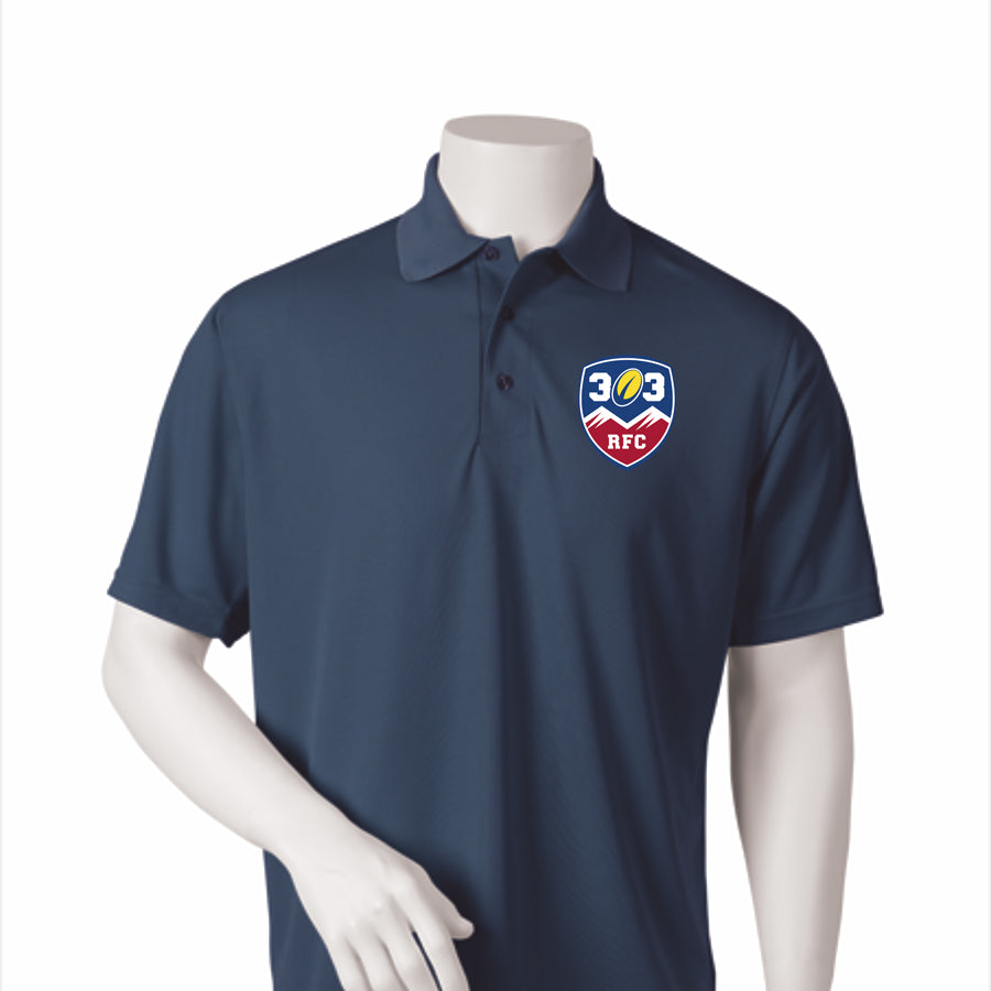 303 Rugby Performance Mesh Polo #100-303 - Olympus Rugby