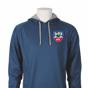 303 Rugby Embroidered Performance Hoodie #300-303 - Olympus® Rugby