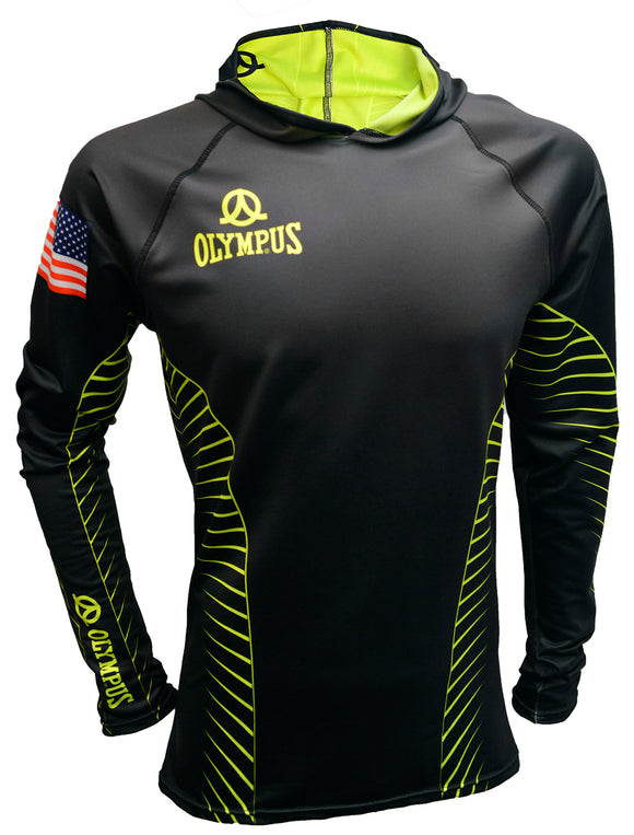 Olympus® Full Custom Performance Hoodie #71008 - Olympus Rugby