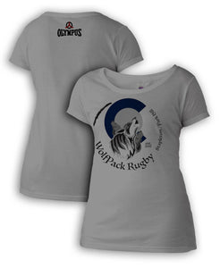 Park Hill Wolfpack Rugby Sublimated Women's Tee #243-ph - Olympus Rugby