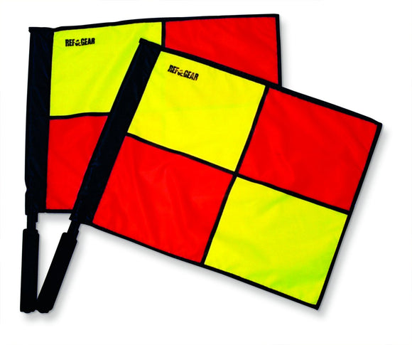 LAW 6 Deluxe Swivel Linesman Flag #FCS2 - Olympus® Rugby