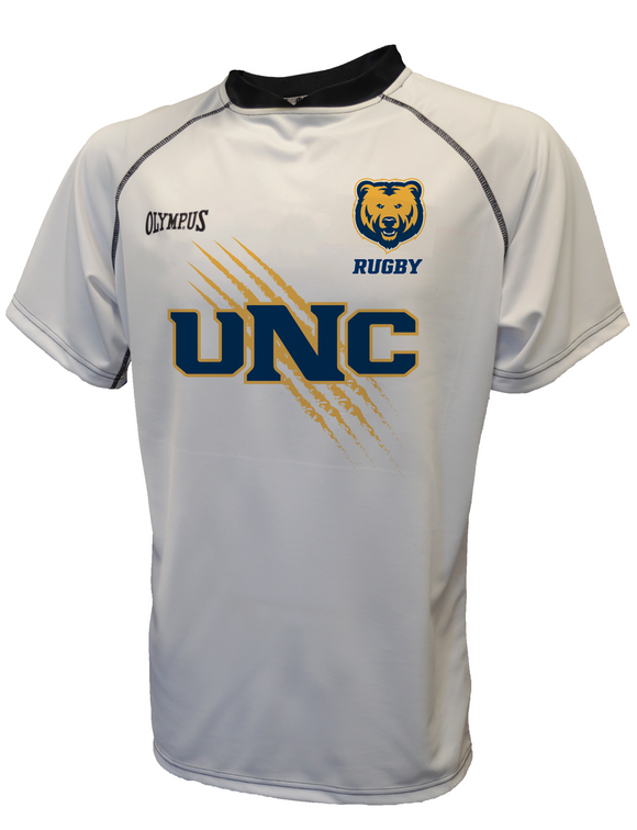 UNC Bears Light Grey Rugby Jersey #2550 - Olympus Rugby