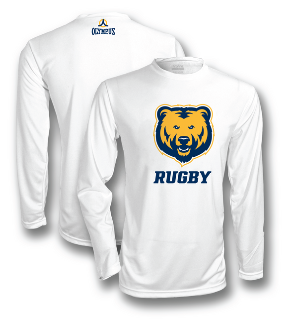UNC Rugby VDRY™ Long Sleeve Golden Bears Team Shirt #1600L-unc - Olympus Rugby