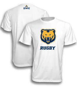 UNC Rugby VDRY™ Short Sleeve Golden Bears Team Shirt #1600S-unc - Olympus Rugby