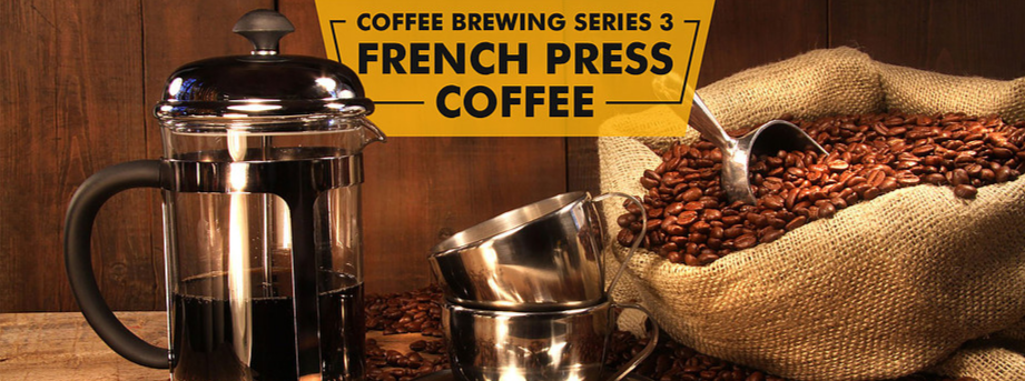 Coffee Brewing Series 3 - French Press