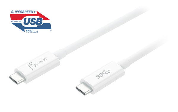 JUCX03 USB 3.1 Type-C to Type-C傳輸線