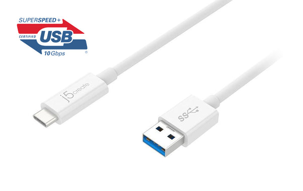 JUCX06 USB 3.1 Type- C to Type-A傳輸線