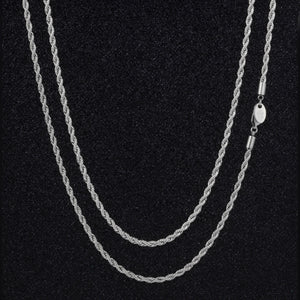 Thin Rope Chain Necklace