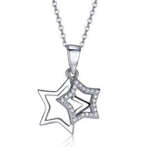 Sterling Stars Necklace