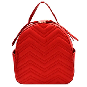 Quilted Chevron Back Pack