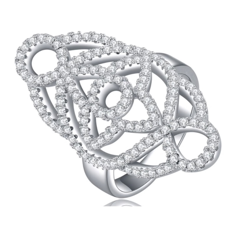 Ornate Design Statement Ring