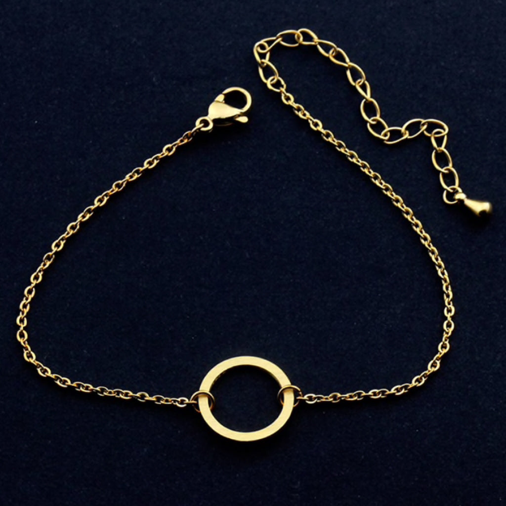 Circle Chain Anklet
