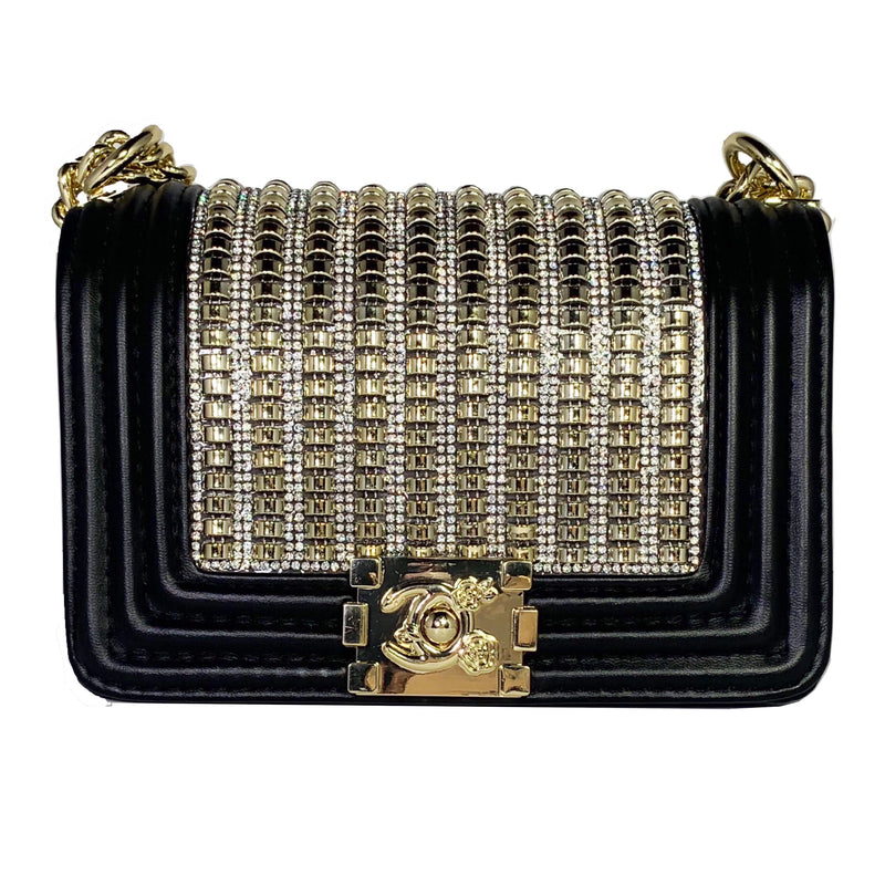 Quilted Bling Handbag