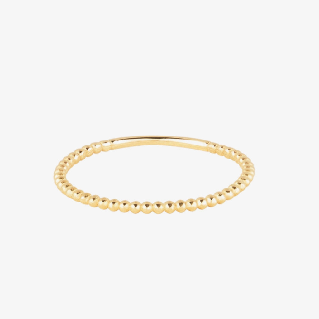 Dainty Bead Ring
