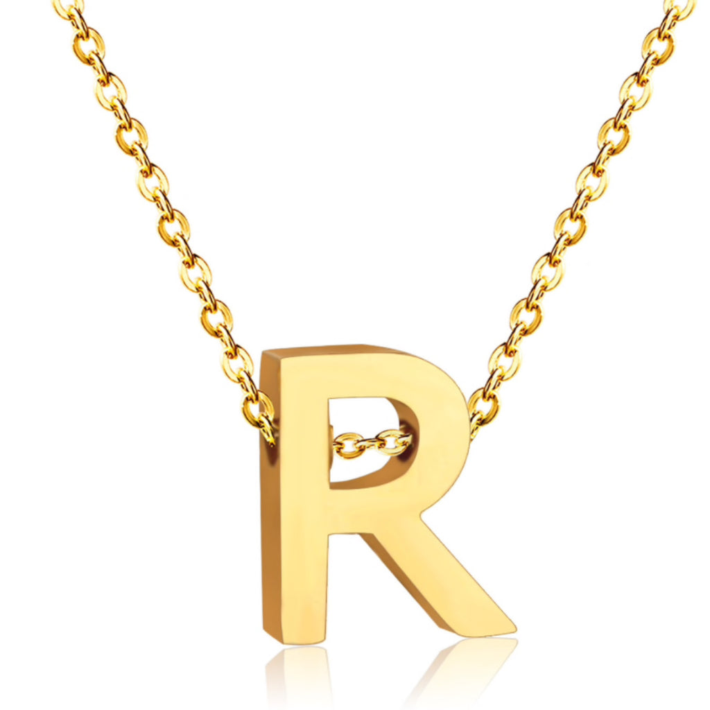 Alphabet Charm Necklace