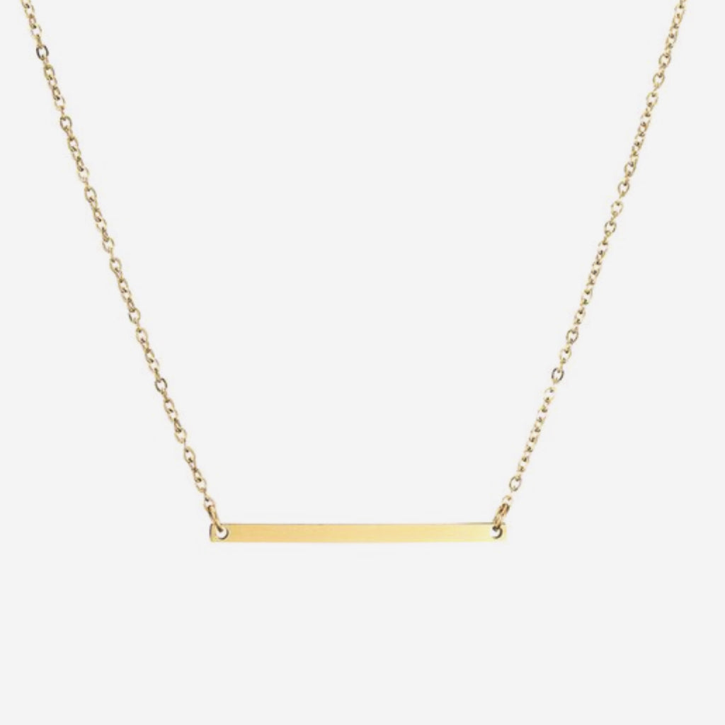 Dainty Bar Chain