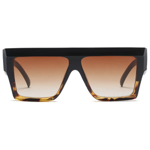 Straight Brow Square Sunnies