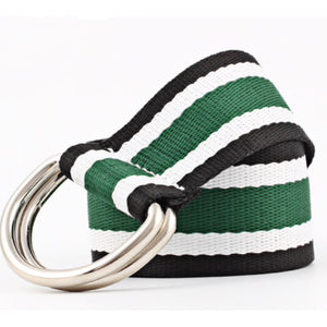 Striped Nylon Belt