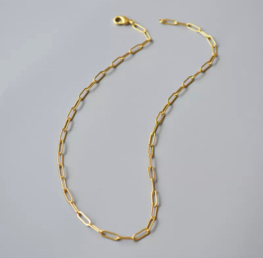 Small Oval Link Necklace