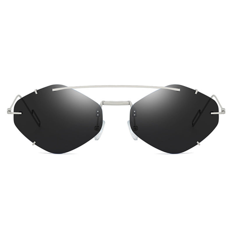 Top Bar Rimless Sunnies