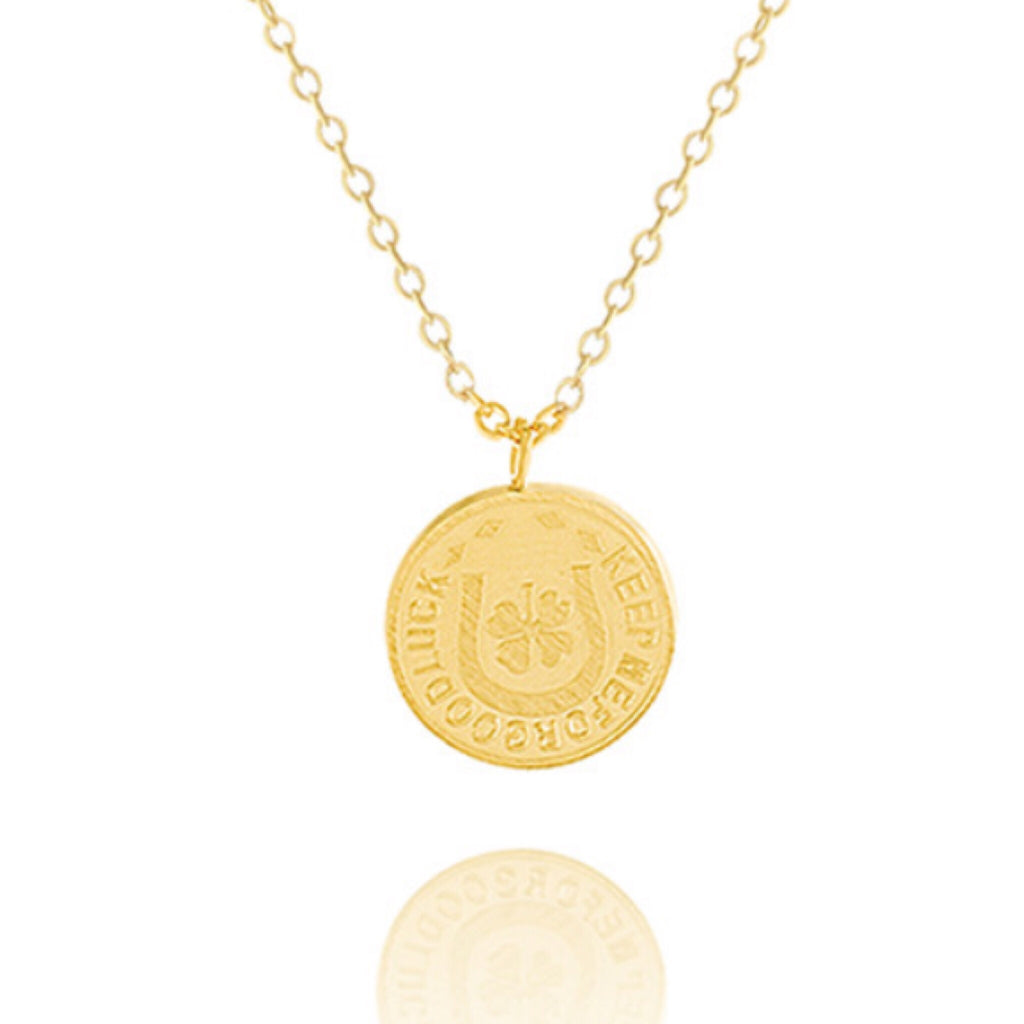 Lucky Charm Coin Necklace