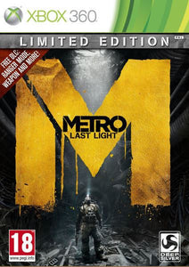 METRO: LAST LIGHT - Limited Edition - Box Damage