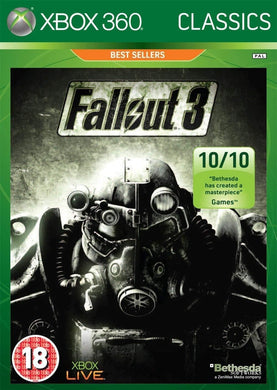 FALLOUT 3 - BOX DAMAGED