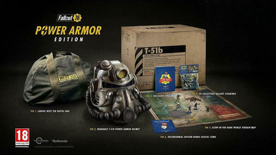 FALLOUT 76 Collectors Edition inc Power Armor Helmet PS4 USED