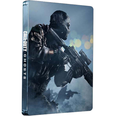 CALL OF DUTY GHOSTS STEELBOOK - NO GAME