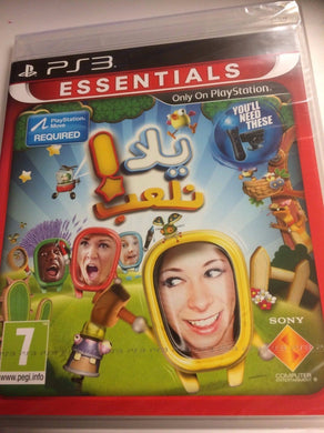 * PLAYSTATION 3 Essential NEW Sealed MOVE Game * START THE PARTY! * PS3