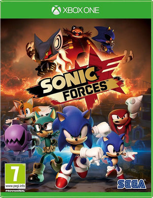 XBOX ONE NEW SEALED Game * SONIC FORCES