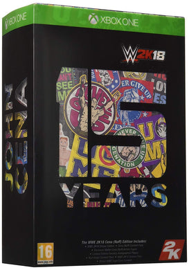 WWE 2K18 - Cena Nuff Collector's Edition with Figure