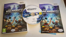 Load image into Gallery viewer, EPIC MICKEY 2 - ITALIAN / GERMAN / FRENCH LANGUAGE ONLY